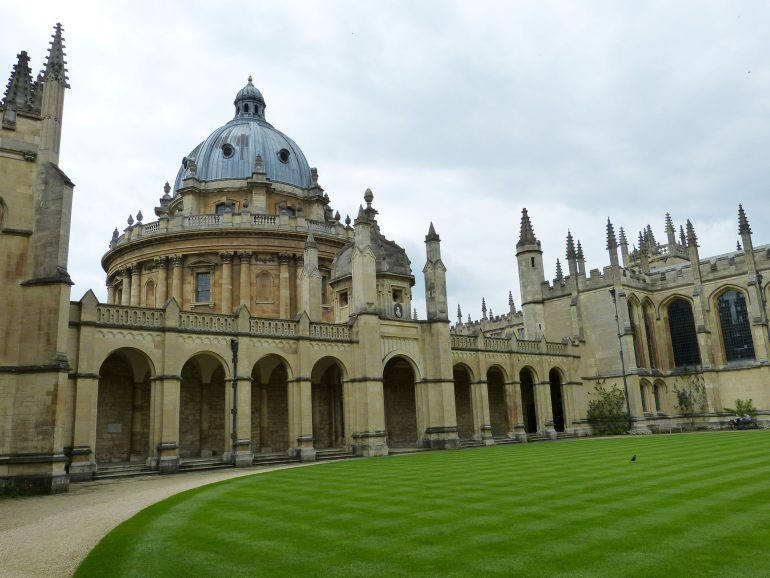 Oxford University. Photo Credit: ©Falco/Pixabay.