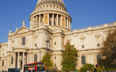 St Paul's Cathedral - As viewed on a spring day.