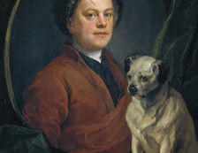 Tate Britain - William Hogarth, Painter and his Pug 1745.