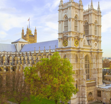 Westminster Abbey is a London landmark and home to Royal coronations, marriages and funerals since the eleventh century.