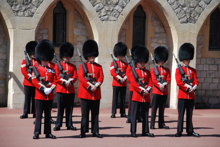 Windsor Castle - Changing of the guard. Photo credit: ©LucieLucy/Pixabay.