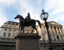 City of London - Equestrian statue of the Duke of Wellington. Photo Credit: ©Nigel Rundstrom.