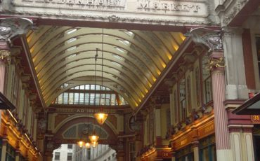 Leadenhall Market, main arcade. Photo Credit: ©Mark King.
