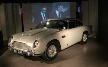 James Bond Car. Photo Credit: ©Nigel Rundstrom.