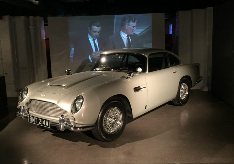 James Bond Car. Photo Credit: ©Nigel Rundstrom.