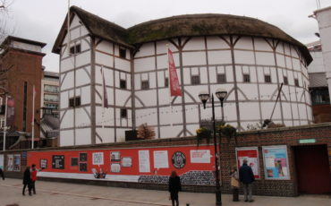 Shakespeare's Globe Theatre. Photo Credit: ©Themis Halvantzi-Stringer.