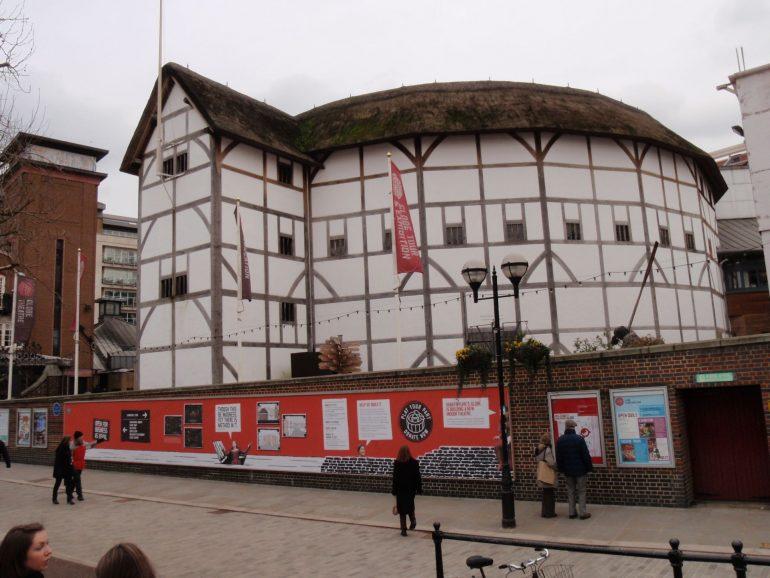 Shakespeare's Globe Theatre. Photo Credit: ©Themis Halvantzi-Stringer.