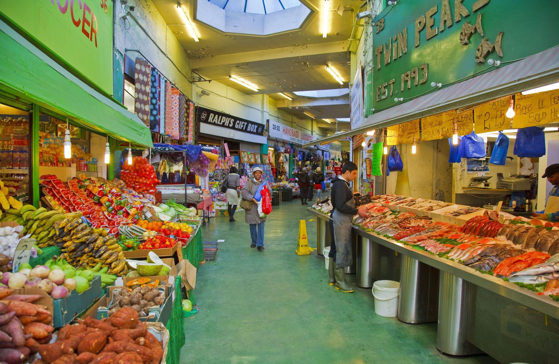 Brixton Markets Food