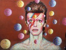 Brixton - David Bowie mural by street artist James Cochran. Photo Credit: ©Edwin Lerner.