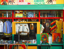 Kool Runnings Ice Gold Green Boutique in Brixton. Photo Credit: ©Visit London Images/Pawel Libera.