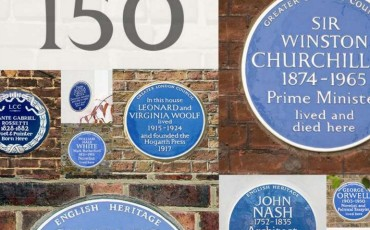 English Heritage - 150th Anniversary of Blue Plaques. Photo Credit: ©English Heritage.
