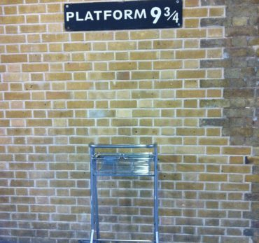 Harry Potter: King's Cross Station - 9 3/4 Platform . Photo Credit: ©Ursula Petula Barzey.