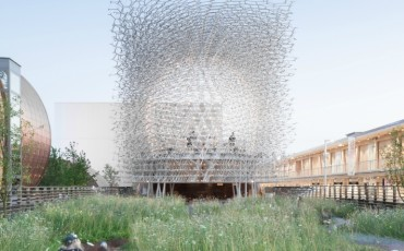 Kew Gardens - The Hive designed by Wolfgang Buttress and created by BDP, Simmonds Studio and Stage One. Photo Credit: ©Mark Hadden.