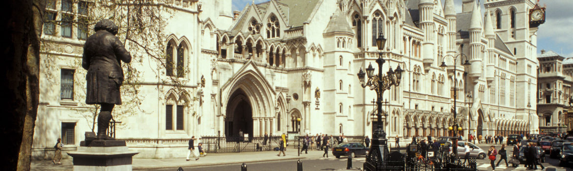 Legal London: Grand architecture inspiring a sense of history at The Royal Courts of Justice, located on The Strand in London. Photo Credit: ©Visit London Images.