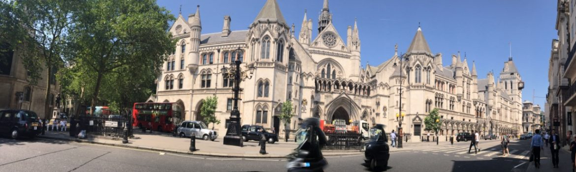 Legal London: Royal Court of Justice. Photo Credit: © Ursula Petula Barzey.