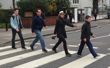London Rock N Roll - Abbey Road. Photo Credit: ©Nigel Rundstrom.