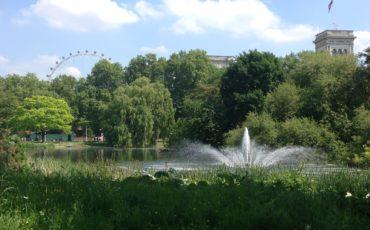 London Royal Parks: View of St James's Park. Photo Credit: ©Ursula Petula Barzey.