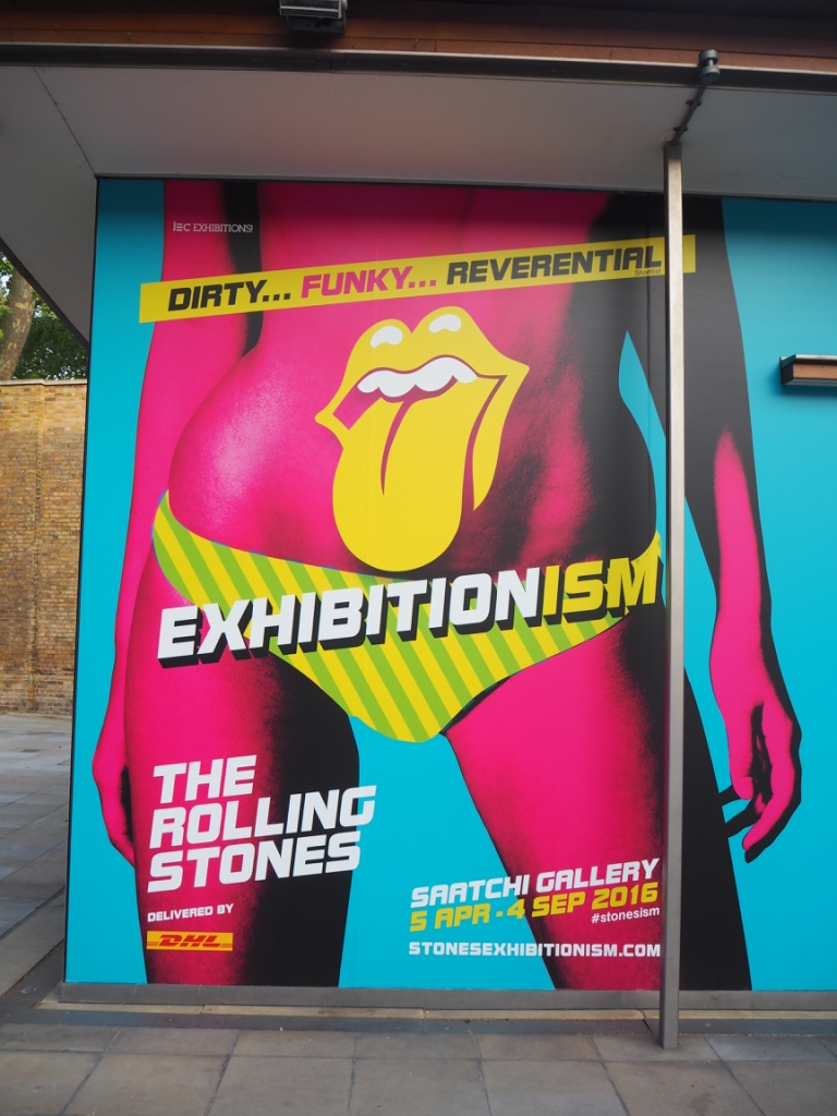 Saatchi Gallery_Rolling Stones Exhibitionism Poster. Photo Credit: ©Ursula Petula Barzey.