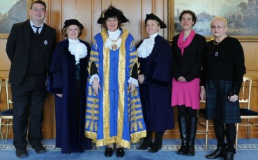 Westminster Lord Mayor with Blue Badge Tourist Guides from Guide London. Photo Credit: ©Tina Engstrom.