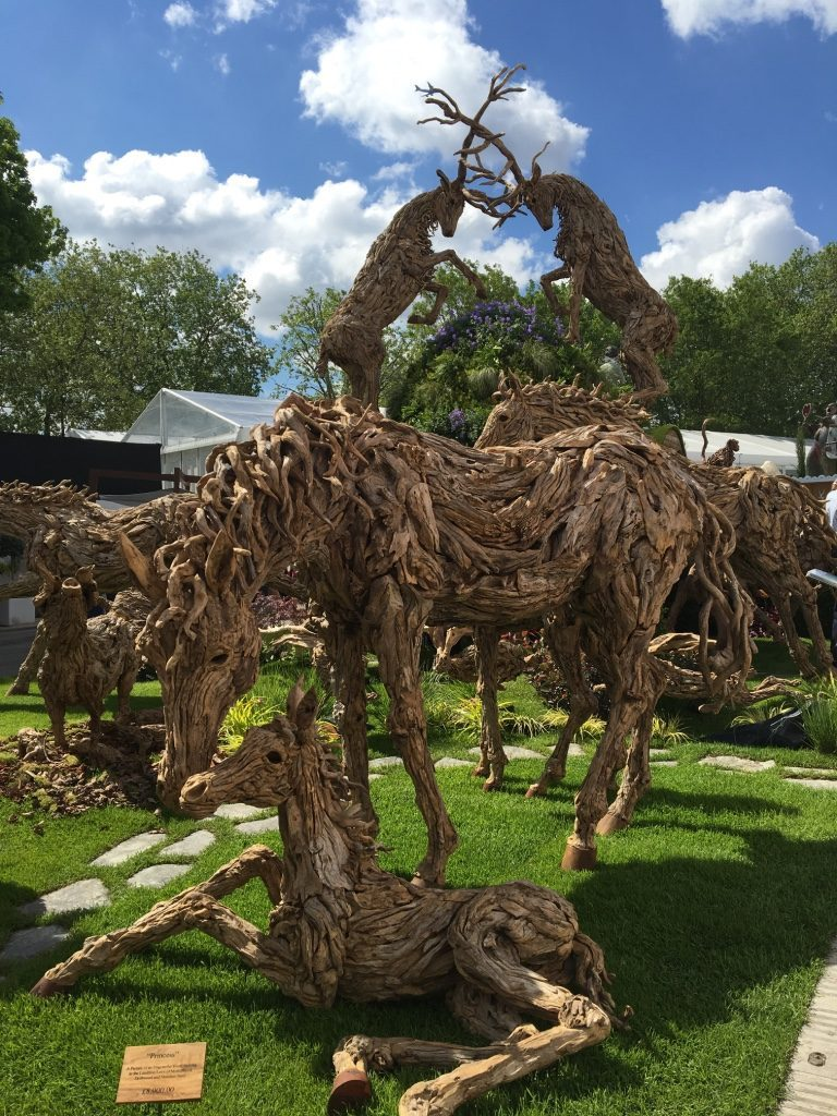 2016 Chelsea Flower Show: James Doran-Webb Animal Sculptures. Photo Credit: ©Ursula Petula Barzey.