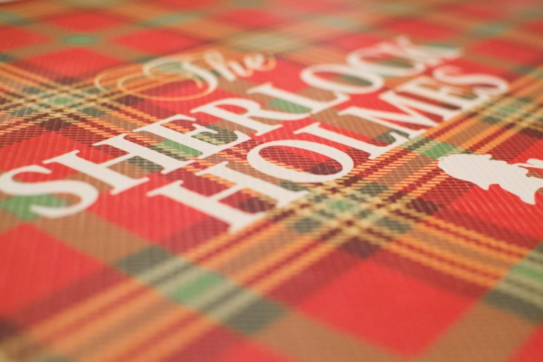 Sherlock Holmes Book Pattern. Photo Credit: © Tookapic/Pixabay.