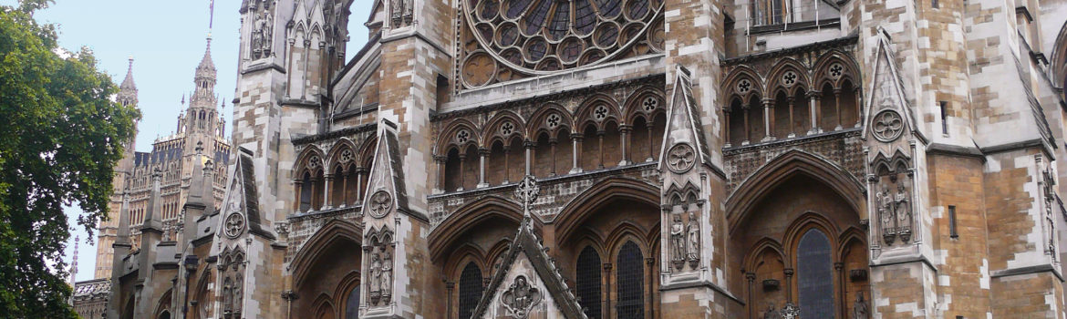 Westminster Abbey - North Façade.