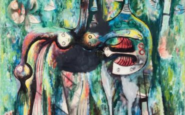 The Sombre Malembo, God of the Crossroads, 1943. Photo Credit: © SDO Wifredo Lam.