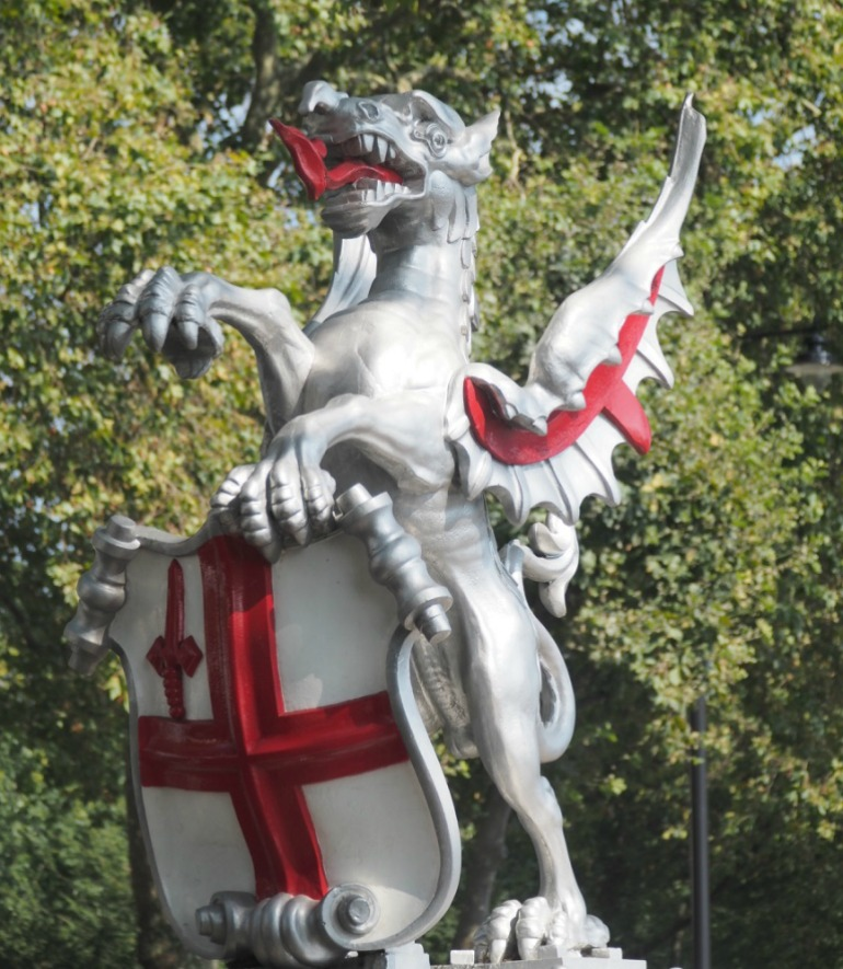 City of London Boundary Dragon. Photo Credit: ©Ursula Petula Barzey.