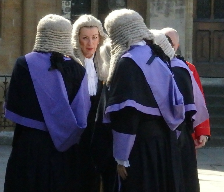 Judges Service at Westminster Abbey - Circuit Judges. Photo Credit: ©Angela Morgan.