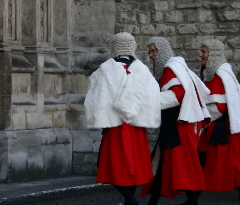 Judges Service at Westminster Abbey - High Court Judges. Photo Credit: ©Angela Morgan.
