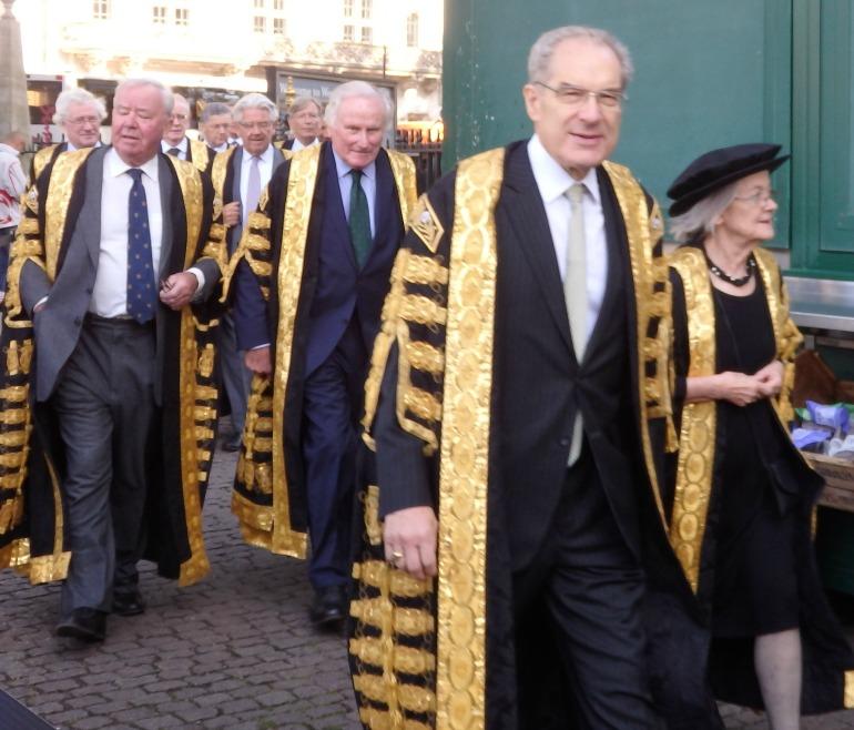 Judges Service at Westminster Abbey - Supreme Court Judges. Photo Credit: ©Angela Morgan.