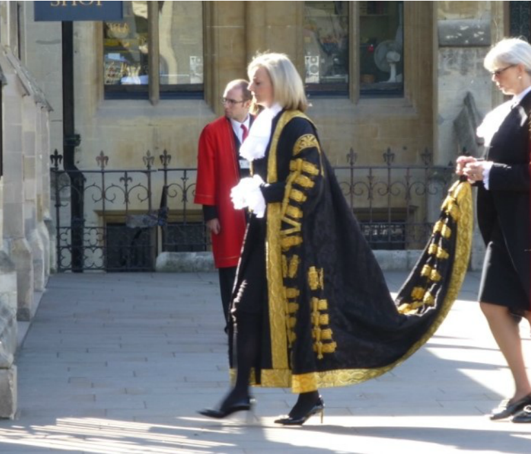 Judges Service at Westminster Abbey - The Lord High Chancellor. Photo Credit: ©Angela Morgan.