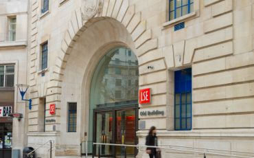 London School of Economics entrance. Photo Credit: ©London & Partners.
