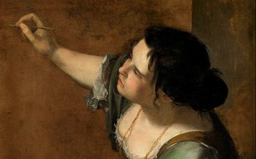 Artemisia Gentileschi, Self portrait as the Allegory of Painting (La Pittura), c.1638-9. Photo Credit: Royal Collection Trust/ © Her Majesty Queen Elizabeth II 2016.