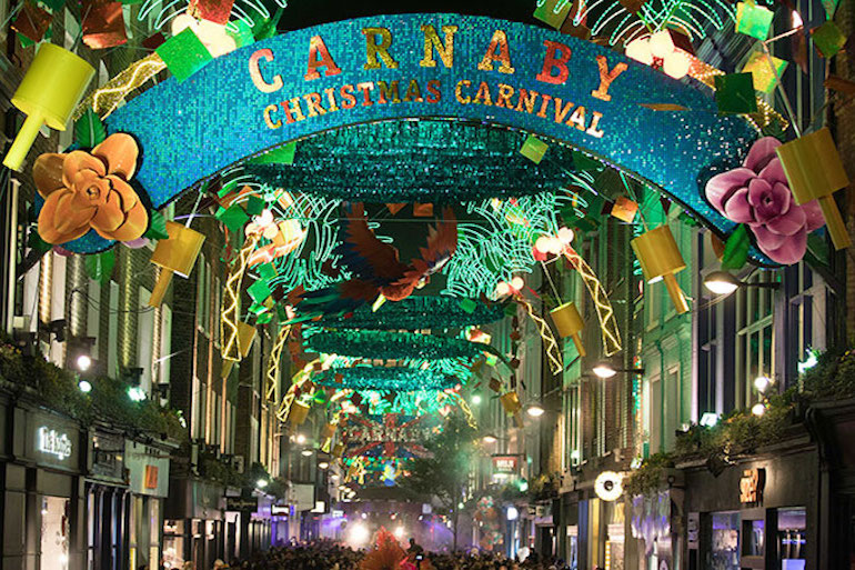 Carnaby Christmas Carnival 2017. Photo Credit: © Reed Exhibitions Limited via Carnaby.