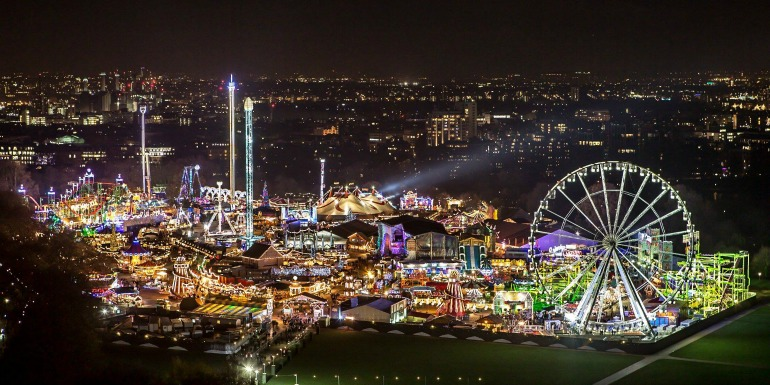 Hype Park Winter Wonderland. Photo Credit: © James Burns.