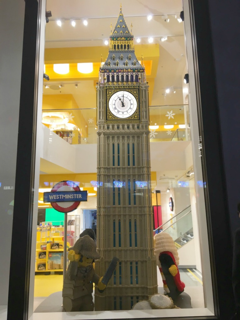 London Lego Store - Big Ben. Photo Credit: ©Ursula Petula Barzey.