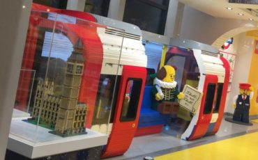 London Lego Store - London Underground Carriage. Photo Credit: ©Ursula Petula Barzey.