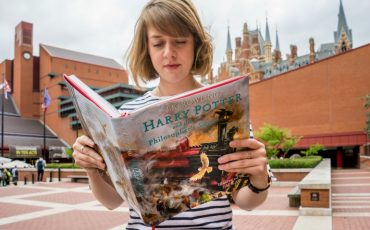 British Library: Harry Potter A History of Magic exhibition. Photo Credit: © Tony Antoniou via British Library.