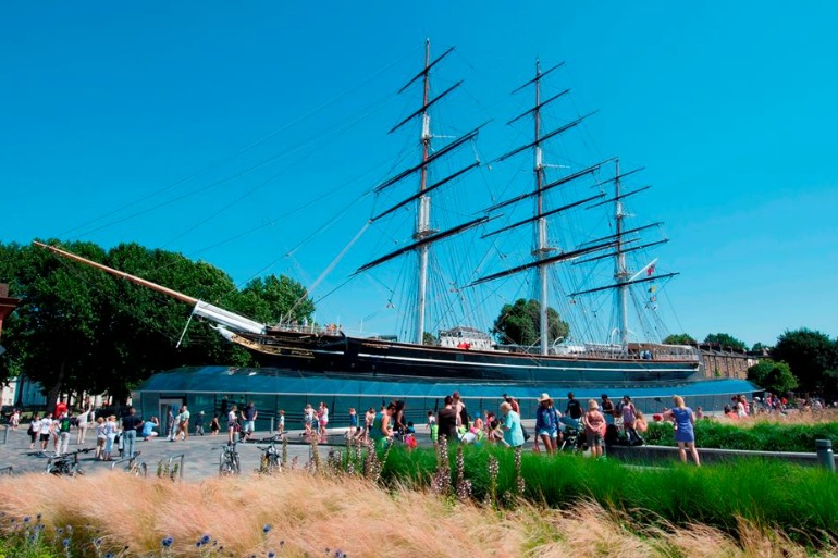 Cutty Sark is a British clipper ship. Photo Credit: © Cutty Sark.