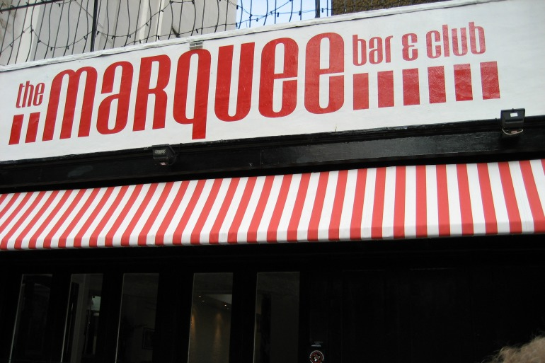 London Marquee Club. Photo Credit: © By Kiwi via Wikimedia Commons.