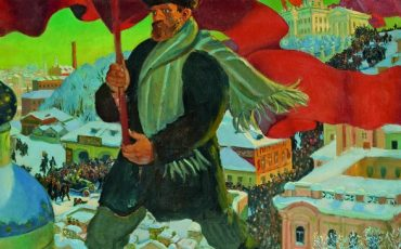 Royal Academy of Arts: Boris Mikhailovich Kustodiev, Bolshevik, 1920. Photo Credit: © State Tretyakov Gallery.