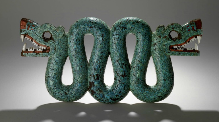 British Museum: The Turquoise Mosaics. Photo Credit: © British Museum.