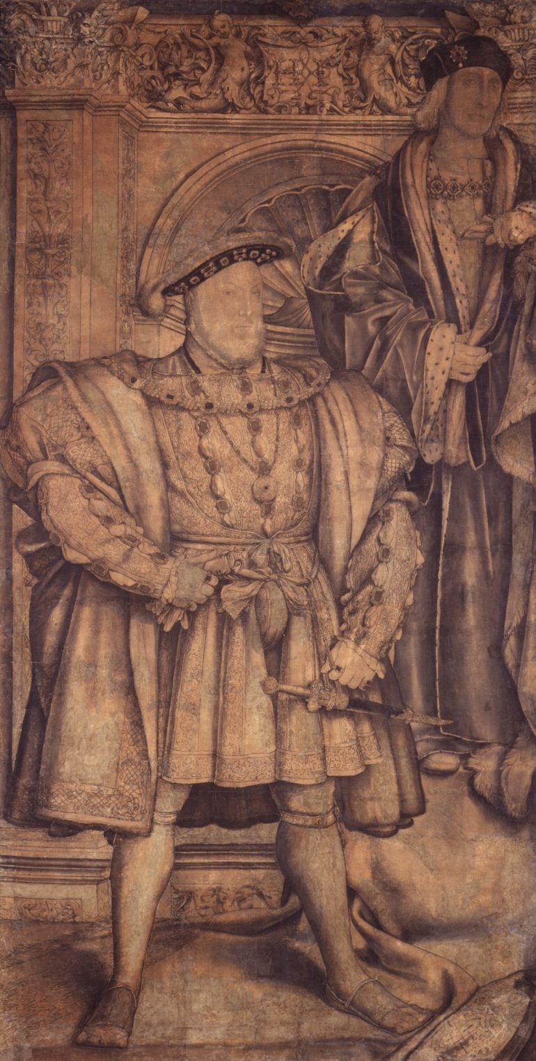 National Portrait Gallery: Portrait of King Henry VIII; King Henry VII by Hans Holbein the Younger, circa 1536-1537. Photo Credit: © National Portrait Gallery, London.