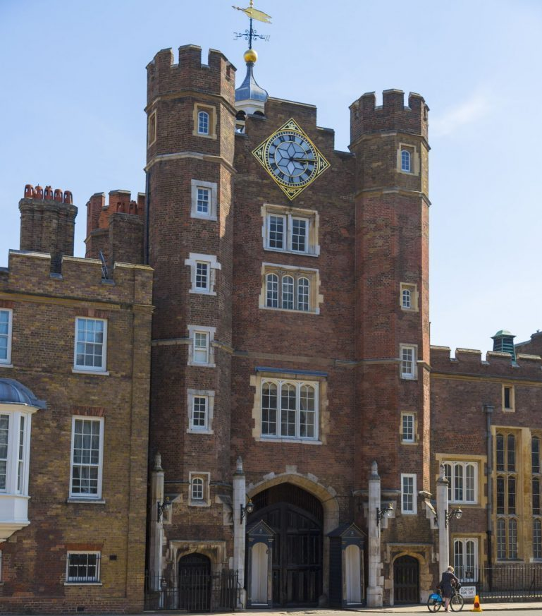 St James's Palace. Photo Credit: © London & Partners.