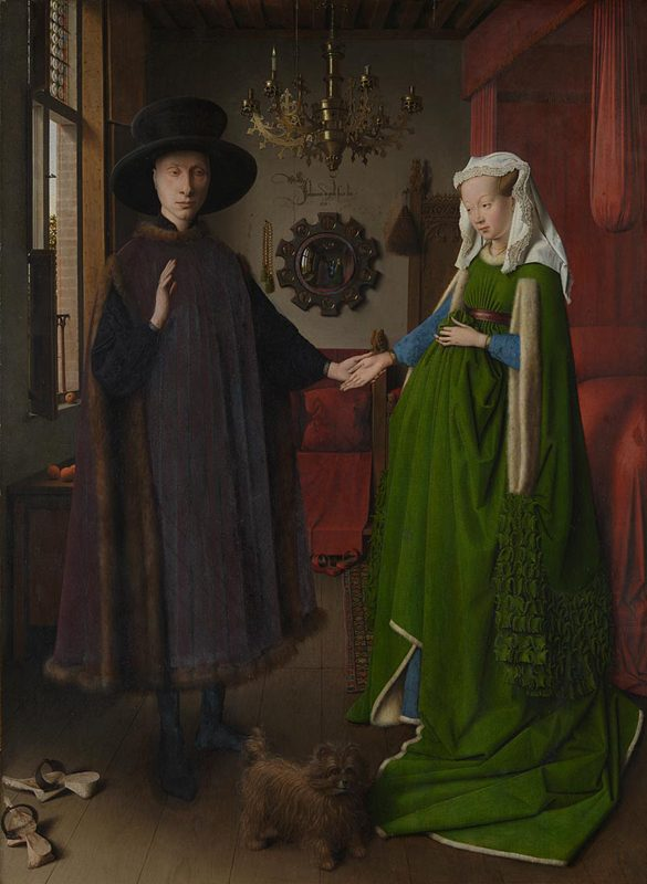 The National Gallery: Jan van Eyck - The Arnolfini Portrait. Photo Credit: © The National Gallery, London.