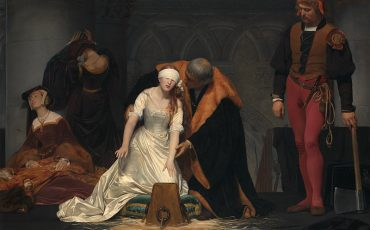 The National Gallery: Paul Delaroche, The Execution of Lady Jane Grey. Photo Credit: National Gallery, London.
