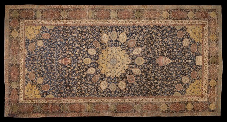 Victoria & Albert Museum: The Ardabil Carpet. Photo Credit: Victoria & Albert Museum, London.