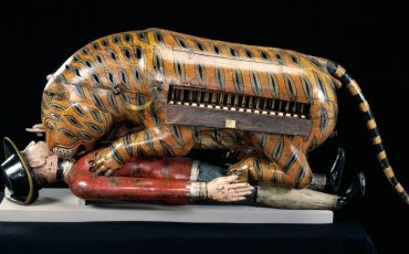 Victoria & Albert Museum: 'Tipu's Tiger', 1780s or 1790s, Mysore, India. Museum no 2545 (IS). Photo Credit: © Victoria & Albert Museum.