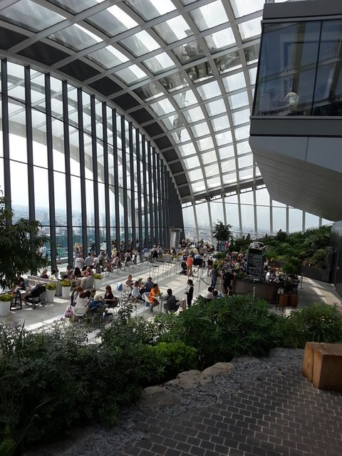 20 Fenchurch Street: Sky Garden. Photo Credit: © Ingrid M Wallenborg.